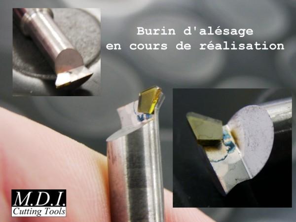 Diamant brasé